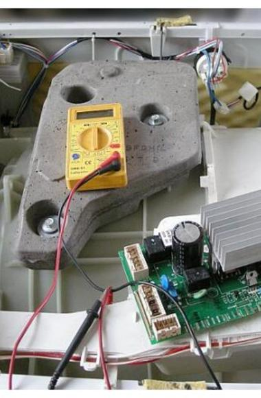 Диагностика модулей стиральных машин и посудомоек в районе Большого Сочи.